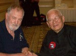 Grandmasters Harvey Hastings & Dr.Maung Gyi