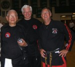 Grandmaster Dr.Maung Gyi- Bob Schulz- Bob Maxwell