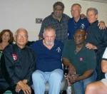 Glynn Lewis & Grandmasters Dr.Maung Gyi- Harvey Hastings- Joe Manley- Bob Maxwell- Lloyd Davis- Randy Webb