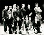Thaing/Bando Champions  1960's - Backrow-Bob Vanne-Unknown-Unknown-U Maung Gyi-'Big Andy'-Gen Lai Chen-Hugh McHugh-Frontrow-'Lil' Andy-Yutaka Masahito-Paul Kwan