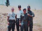 Bob Maxwell- Al Cook- King Abdullah Hussein- Ron Meekins