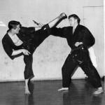 Grandmaster Sayagyi Dr.Robert Hill & Jim Cope