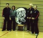 Family - Bando Masters Rick & Miriam Niemira - Isshin-Ryu Grandmaster Donald Bohan & Bando Grandmaster Bob Maxwell